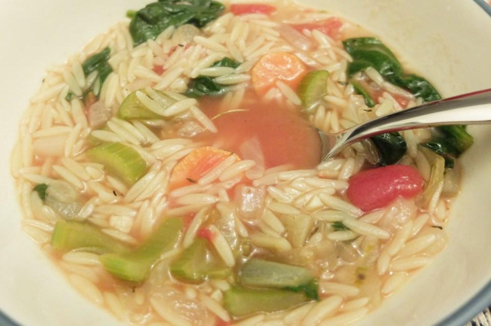 Orzo Vegetable Soup 9