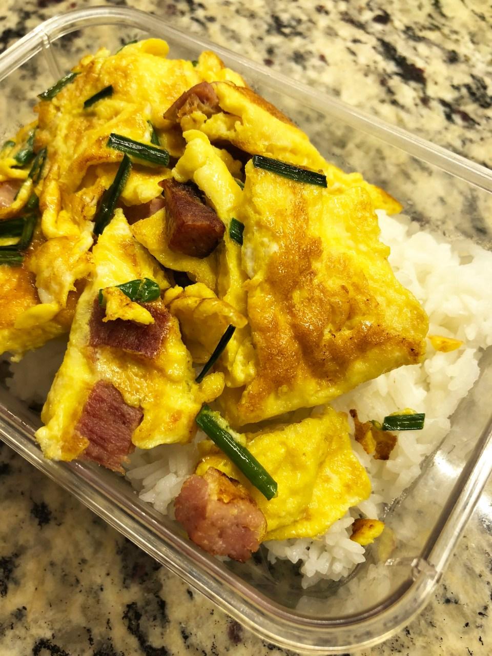 Ham & Chive Omelet 10
