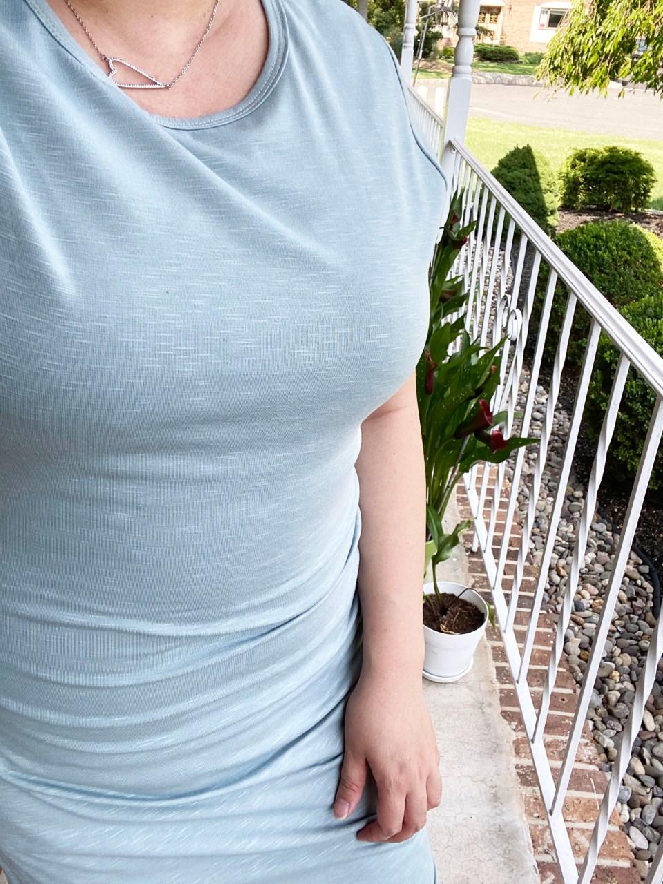 Tulip Hem T-Shirt Dress 11