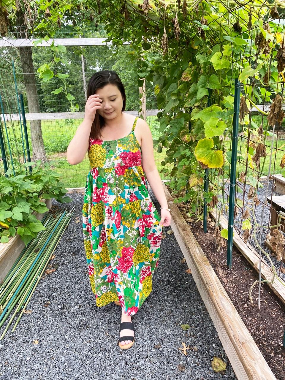 Floral Swing Maxi Dress 3