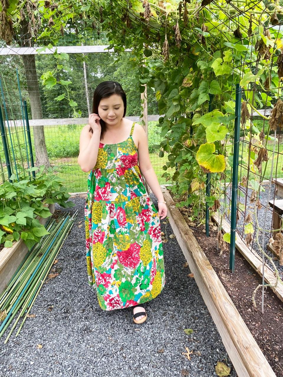 Floral Swing Maxi Dress 5