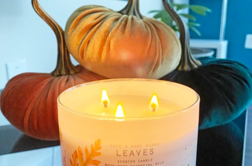 Leaves-Candle