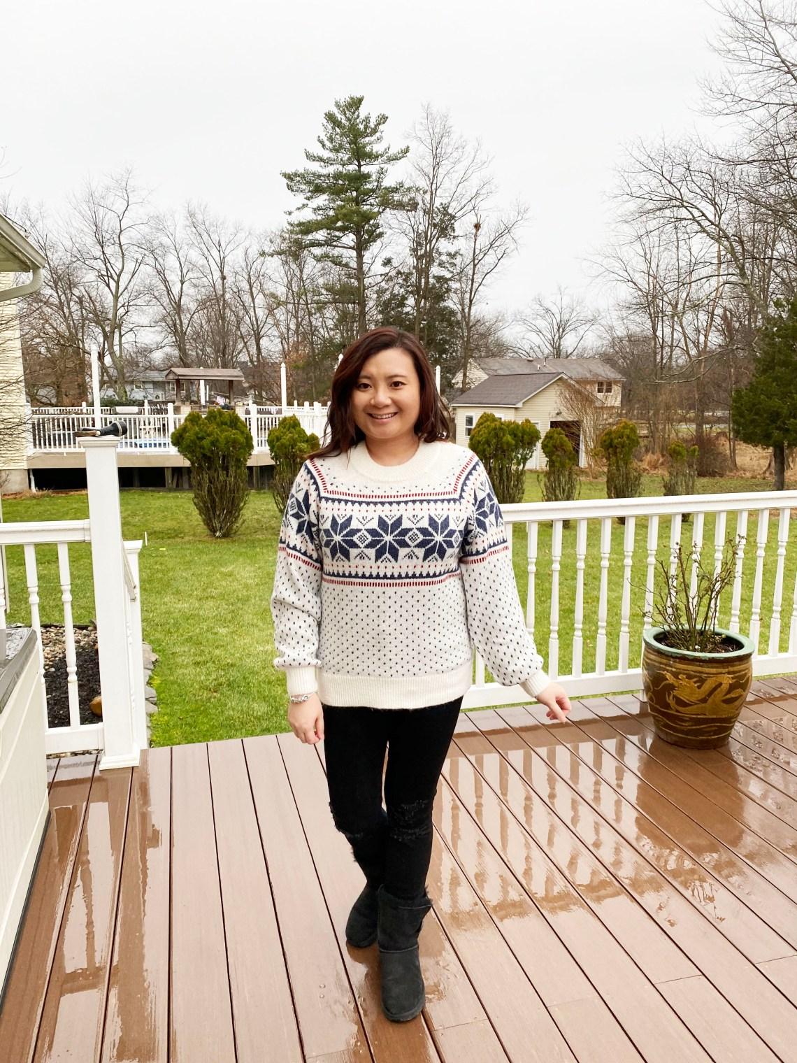 Snowflake-Boyfriend-Sweater