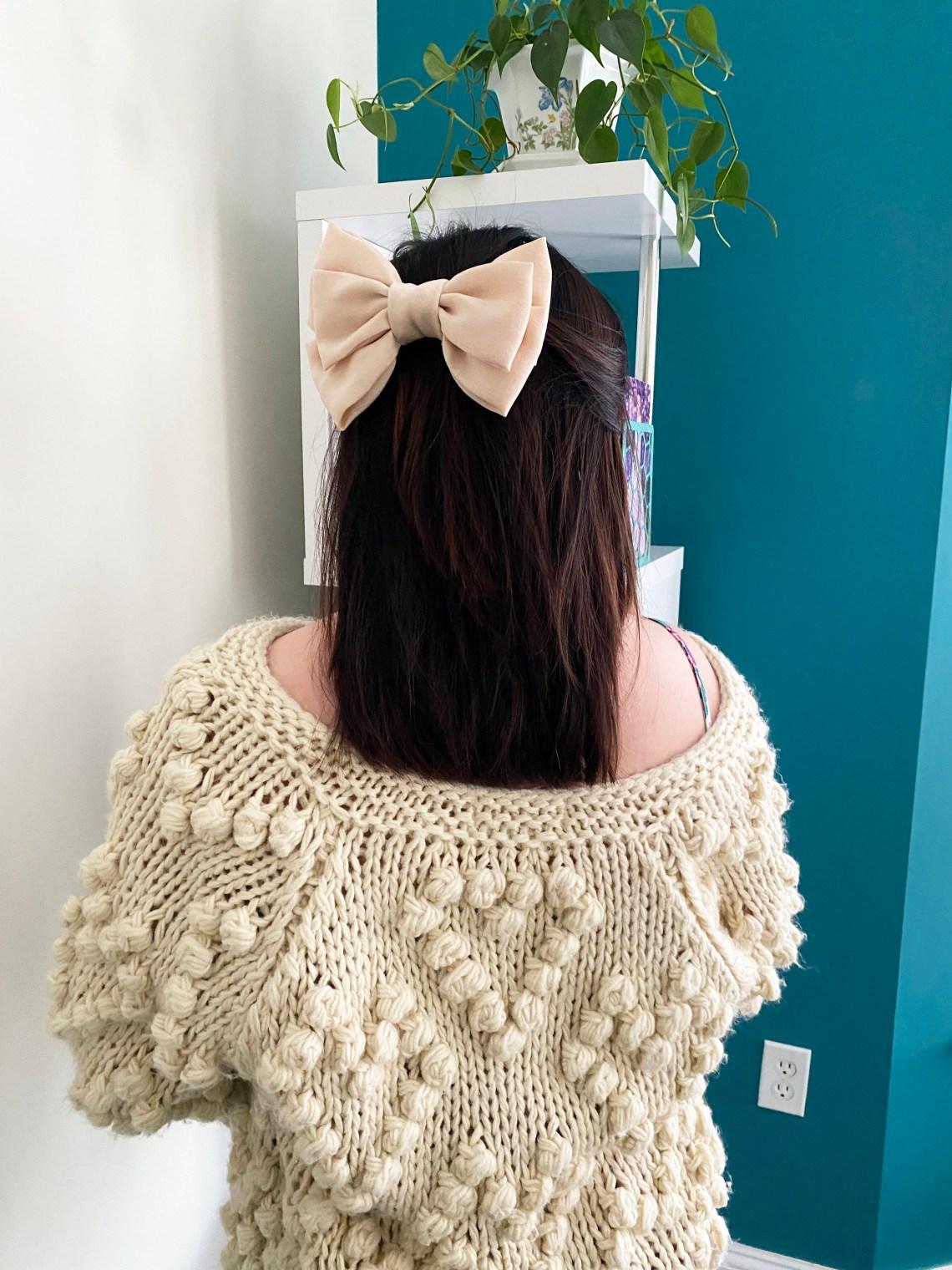 Satin-Hair-Bow
