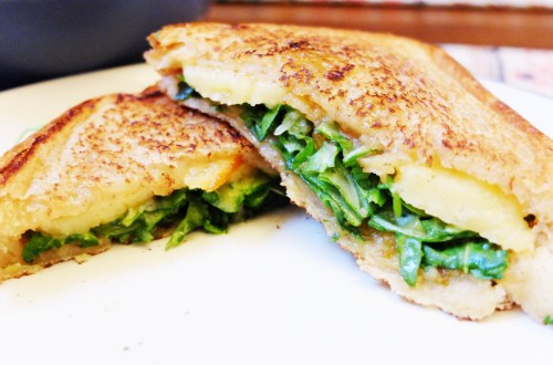 Orange-Marmalade-Arugula-Grilled-Cheese