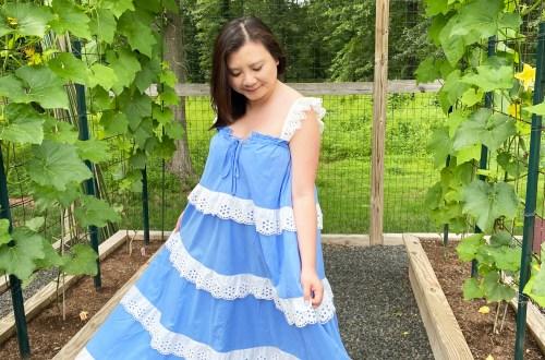 Blue-Ruffle-Tiered-Maxi-Dress