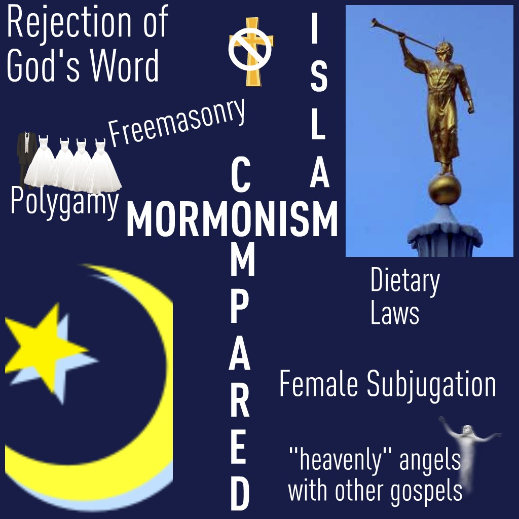mormonism vs islam life after ministries the islamic faith is centered on the belief in one god and in arabic he is called allah the muslims followers of islam believe that muhammad was ed