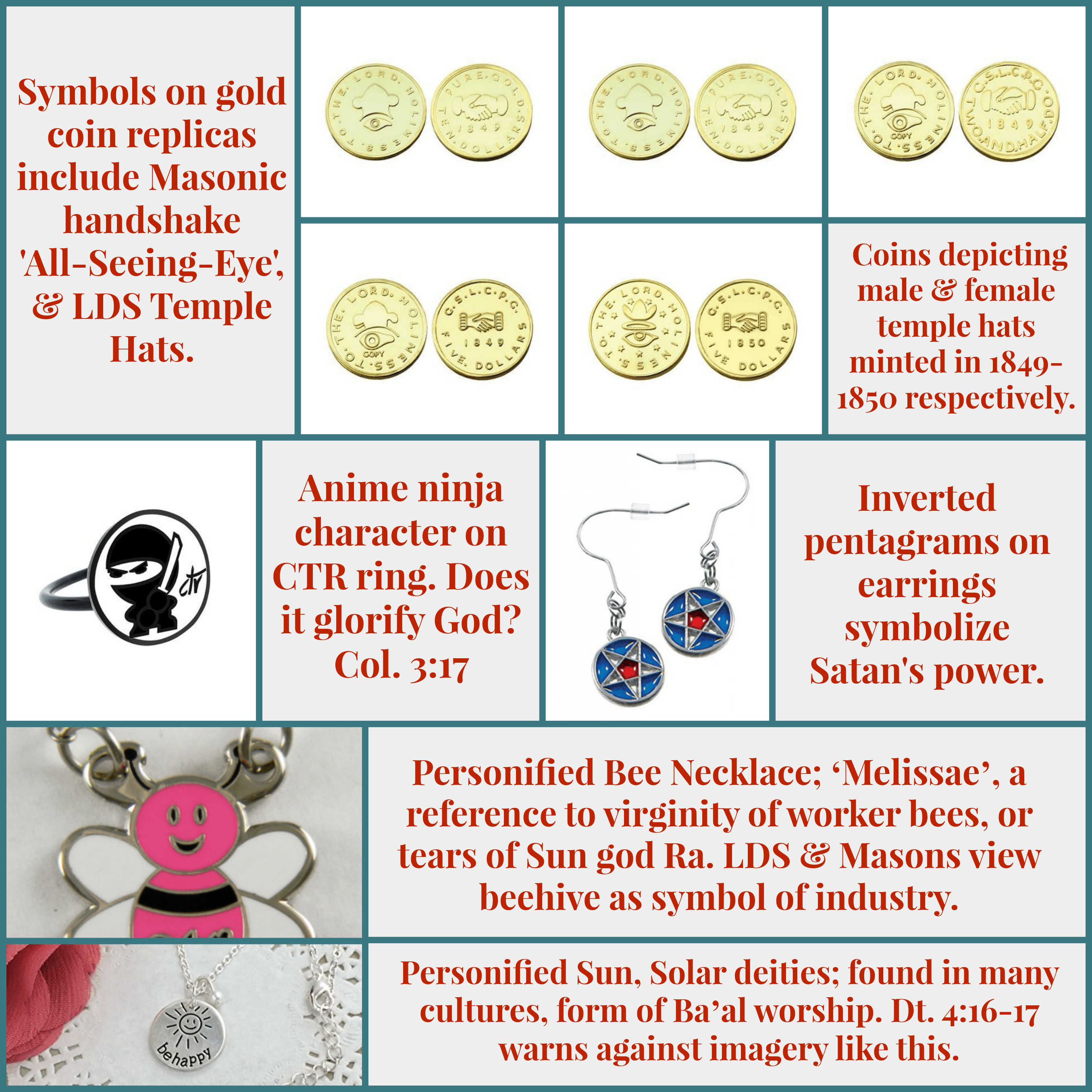 Satanic Lds Jewelry And Coins Life After Ministries