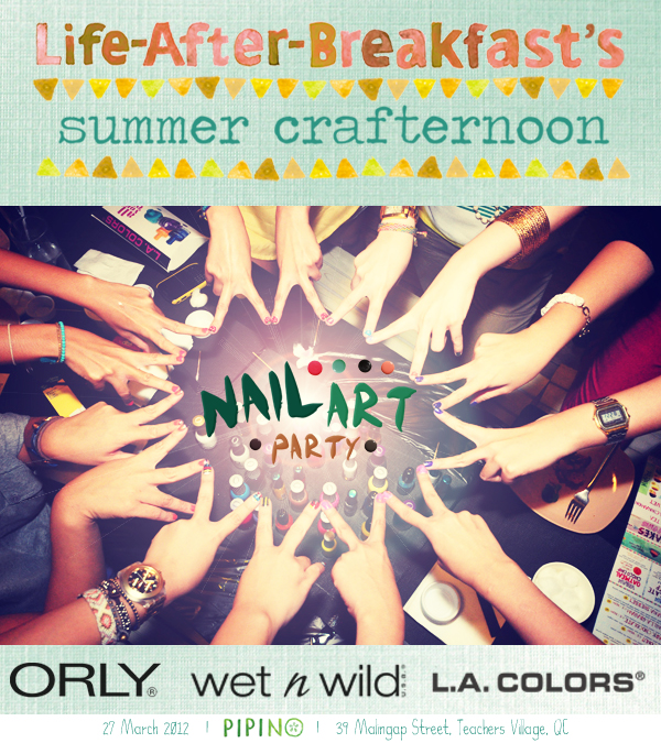 Summer Crafternoon: Nail Art Party! - Life After Breakfast