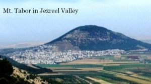 2014 Mt_Tabor Deborah and Barak Battle in Jezreel Valley