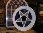Nauvoo Temple Inverted Pentagram