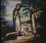 Altar Adam and Eve