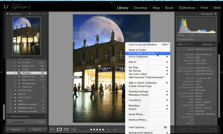 Top tip! Navigating Lightroom folders and collections