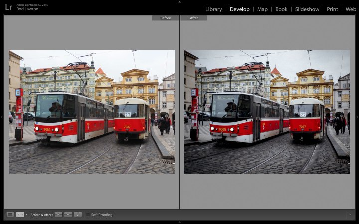 Free Lightroom preset Eurochrome