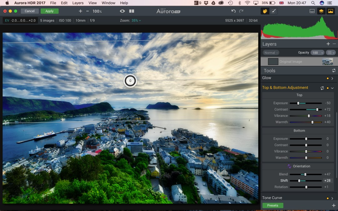 Aurora HDR 2017 getting started