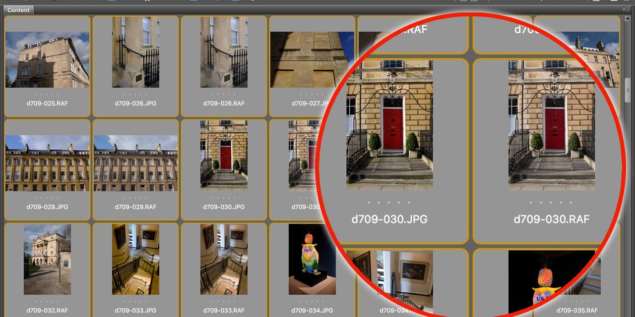 How to batch-rename RAW+JPEG pairs in Adobe Bridge