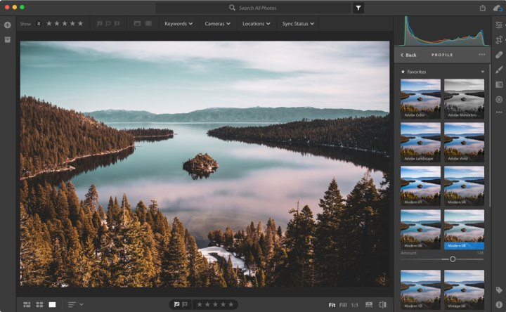 Adobe profiles
