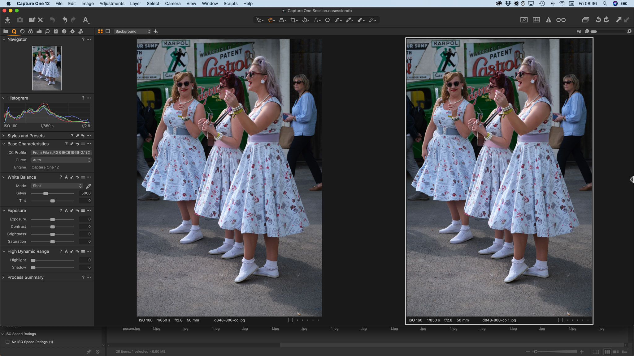 Capture One 12.1 X-Trans processing