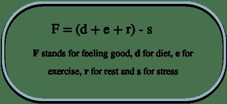 Feeling good formula