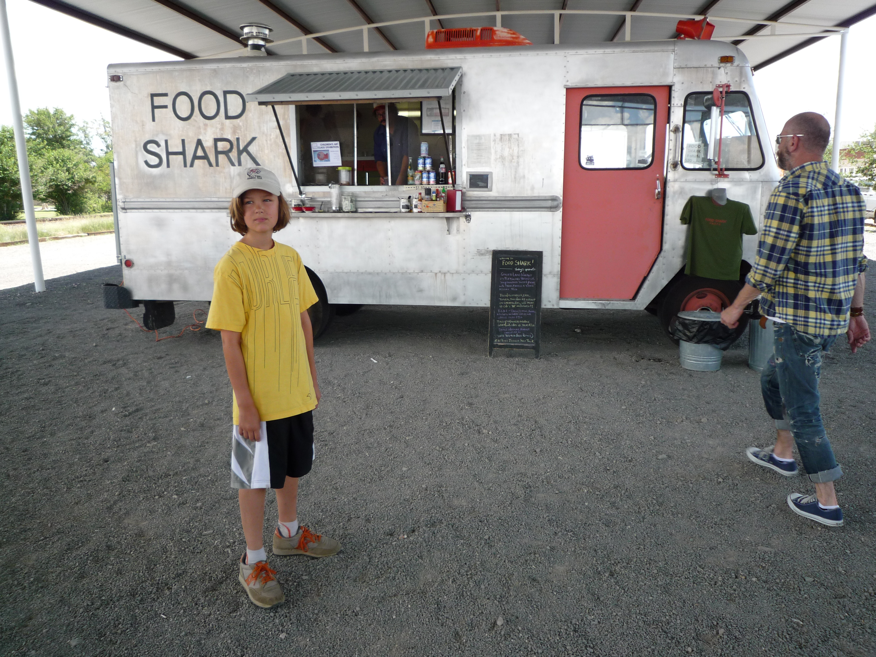 A land shark in Marfa, Texas.