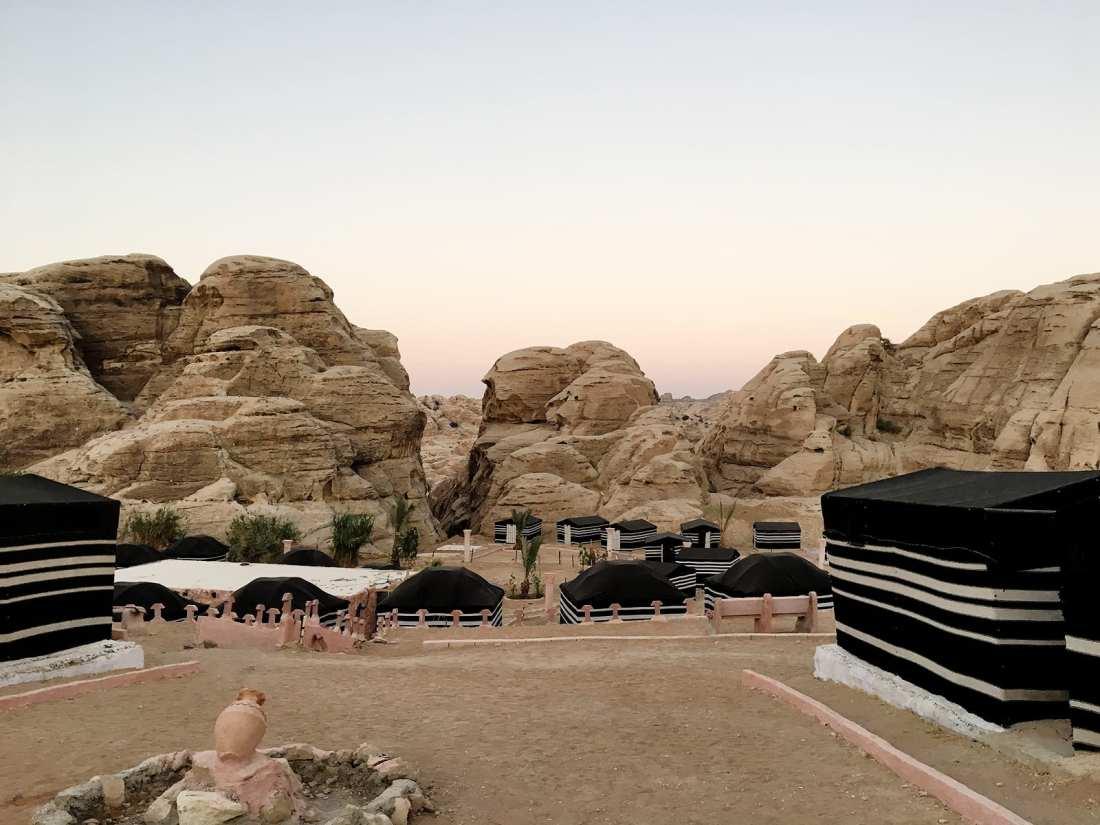 Tents in Wadi Musa - Seven Wonders Bedouin Camp