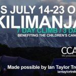 kilimanjaro childrens cancer association