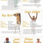 Athletes over 50 infographic