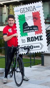 Former cycling pro Paul Kimmage to make a come-back in the saddle for the Irish Hospice Foundation! Photo by Paul Sherwood - copyright Paul Sherwood © 2015