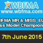 2015 NIFMA Mr & Miss Europe