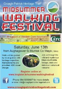 Croagh Patrick Heritage Trail Mid-Summer Walking Festival