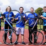 Munster rugby players help kick off Limerick leg of inaugural Pieta House National Cycle Weekend in Limerick