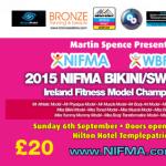NIFMA WBFMA IRELAND Bikini/Swimwear Fitness Model Championships