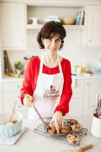 Denise O' Callaghan Baker and author of 'Delicious - Recipies from my Gluten Free Bakery'