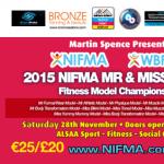 NIFMA Mr & Miss World Fitness Model Championships Dublin 28th November