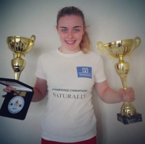 Powerlifting World Champion Patricia O'Halloran