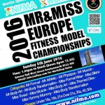 ​7 Weeks to NIFMA Mr & Miss Europe Fitness Model Championships​