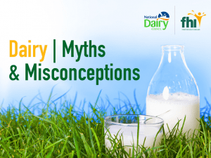 New E-Book Clarifies Myths & Misconceptions About Dairy