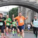 Rock n Roll: John Quinlivan taking part in the 2015 Rock N Roll Half Marathon
