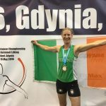 Sarah Smith (club coach and AIKLF Connaught representative) took Gold in Snatch discipline 16kg weight in open and veteran category in 63kg weight division