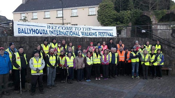 Before the Moon Lit walk in Kilfinane on Friday evening
