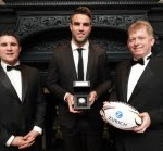 Munster and Ireland's Conor Murray was voted the Zurich Players' Player of the Year 2017 by his fellow players at the 15th annual Awards ceremony on Wednesday night.