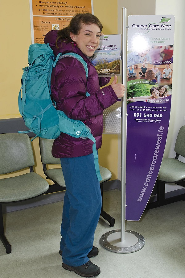 29-year-old Radiation Therapist Aisling McDonnell will climb Kilimanjaro for local charity Cancer Care West this July