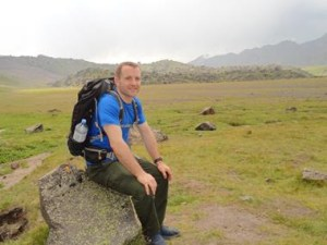 Pat Divilly is the official brand ambassador for Cotswold Outdoor in Ireland