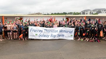 13 years swimming 13km across Galway Bay