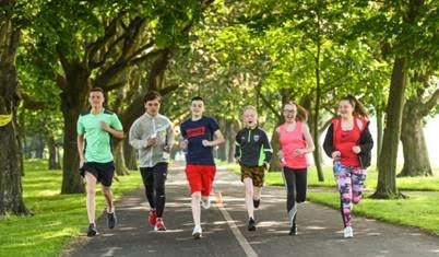 VHI and the IRISH YOUTH FOUNDATION ENCOURAGE YOUNG PEOPLE TO 'RUN FOR FUN'