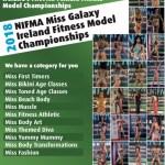 2018 NIFMA Miss Galaxy Ireland Fitness Model Championships