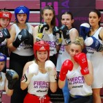 World, European and National boxing champions representing Tobar Pheadair, Oughterard, Monivea and NUIG Boxing Clubs at Fierce As Female: Boxing Edition. Photographer: Eibhlín Seoighthe (feicphoto)