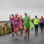 Running and laughing in the rain at Run Galway Bay on Saturday Pic Credit Richatf Peyton Galway Cow
