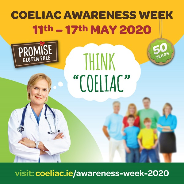 Coeliac Society of Ireland is to mark its 50th anniversary