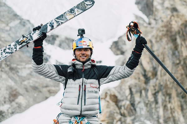 Polish ski mountaineer Andrzej Bargiel clicked into his skis at an altitude of 8,611m and set out on a journey that would make history – to descend K2 on skis